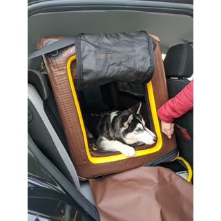 Back-Seat Box TAMI L - Auto & Home inflatable dog box