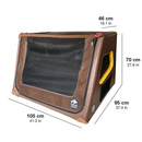 TAMI XL - Auto & Home Hundebox aufblasbar