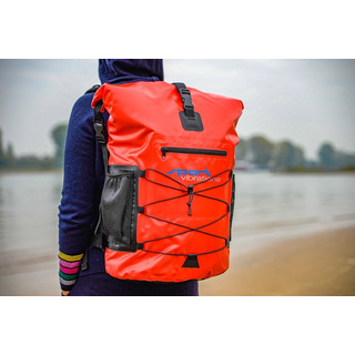 Sport Vibrations® Premium Thermo-Dry Bag 30 liter red outdoor backpack waterproof